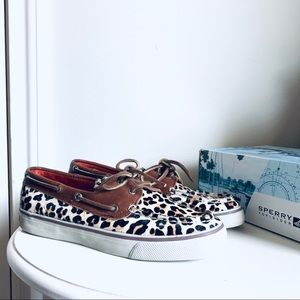 Sperry Top-Sider Bahama Leopard / Cheetah Shoes